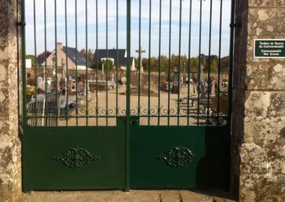 Ferronnerie d'art rénovation Plougoumelen