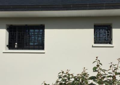 Grilles de protection fenêtre - 1
