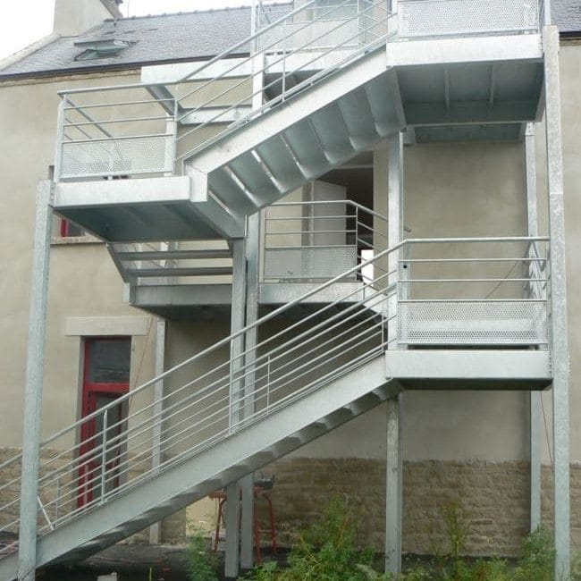 Escalier Locmariaquer - 2