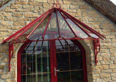 marquise acier rouge rubis